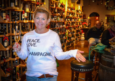 Main Street Wine Company, Peace Love & Champagne